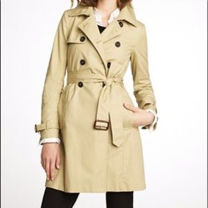 J. Crew Collection Icon trench coat classic tan 6